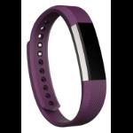 Fitbit Alta Pulsera de actividad Púrpura, Acero inoxidable OLED