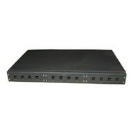 Microconnect FIBPANEL12 SC 1pc(s) Black fiber optic adapter