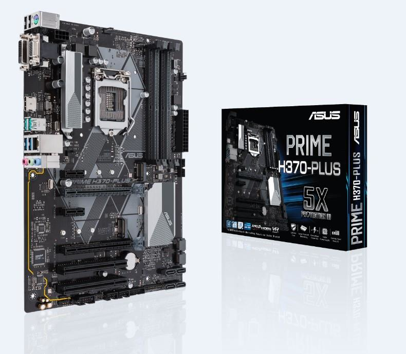 MB Int Prime H370 Plus DDR4 ATX