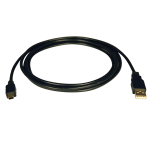 Tripp Lite USB 2.0 Hi-Speed A to Mini-B Cable (A to 5Pin Mini-B M/M), 1.83 m USB cable