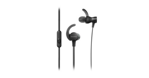 Sony MDR-XB510AS mobile headset Binaural In-ear Black Wired