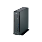 Fujitsu ESPRIMO Q556/2 2.4GHz i5-7400T Mini PC 7th gen Intel® Core™ i5 Black, Red Mini PC