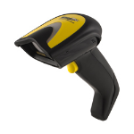 Wasp WLS9600 1D Laser Black,Yellow Handheld bar code reader
