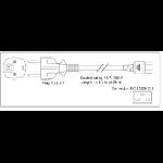 Cisco CAB-AC-2500W-EU= Stromkabel Schwarz 4,26 m CEE7/7 C19-Koppler
