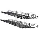 Tripp Lite SRWB12210X2STR cable tray Straight cable tray Black