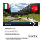 Garmin TrekMap Italia v5 PRO navigator map Italy Cycling,Hiking MicroSD/SD