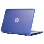 "iPearl MCOVERHPC14G3CLR notebook case 14"" Hardshell case Translucent"