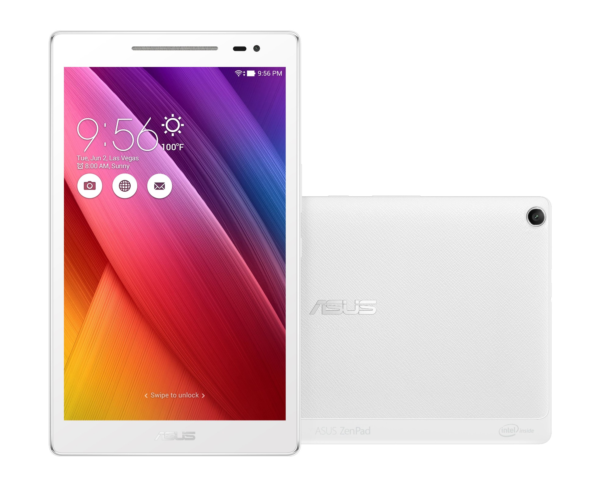 ASUS ZenPad Z380M-6B033A 16GB White tablet