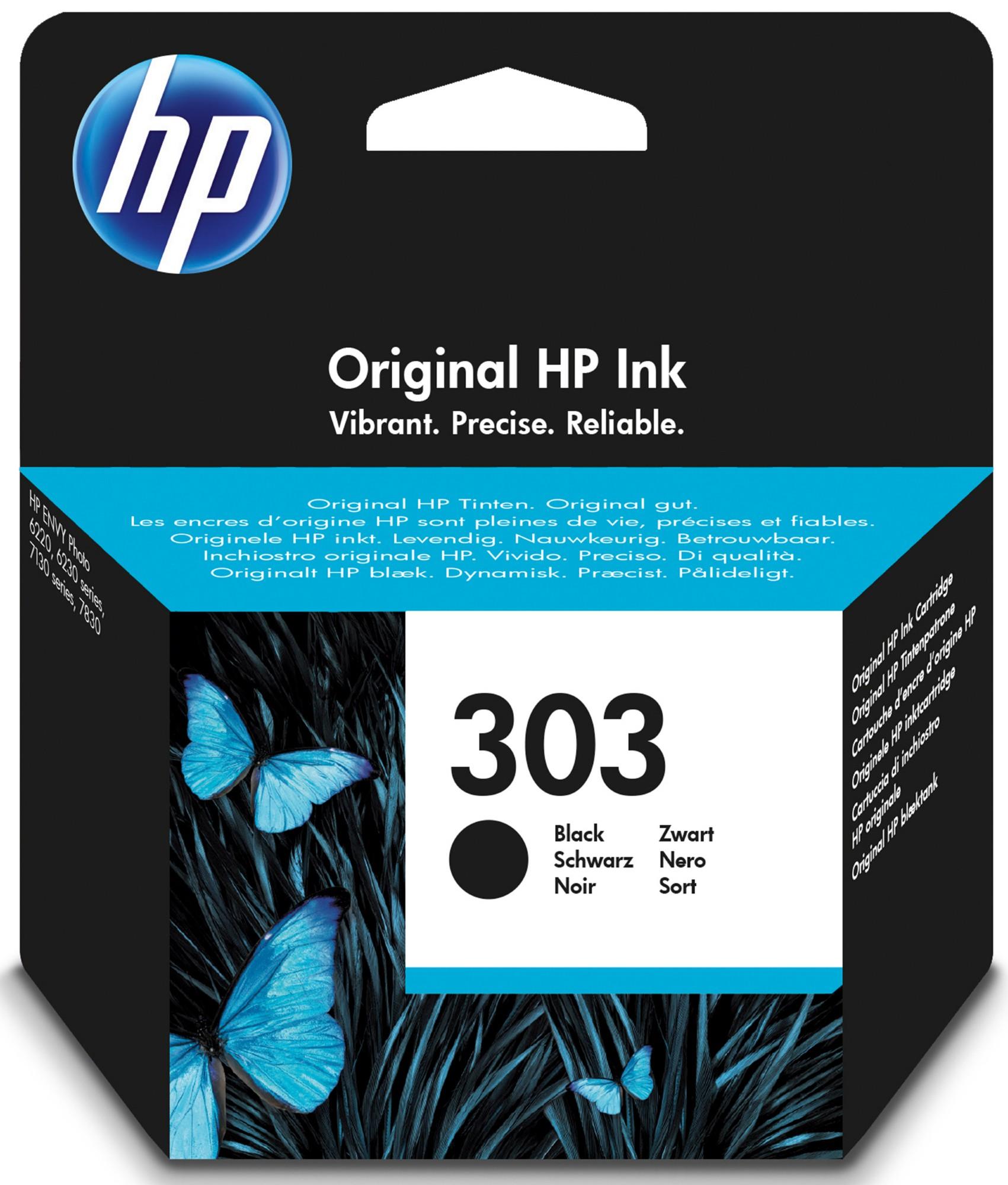 HP 303 Origineel Zwart 1 stuk(s)
