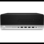 HP ProDesk 600 G5 9th gen Intel® Core™ i5 i5-9500 8 GB DDR4-SDRAM 512 GB SSD SFF Black PC Windows 10 Pro