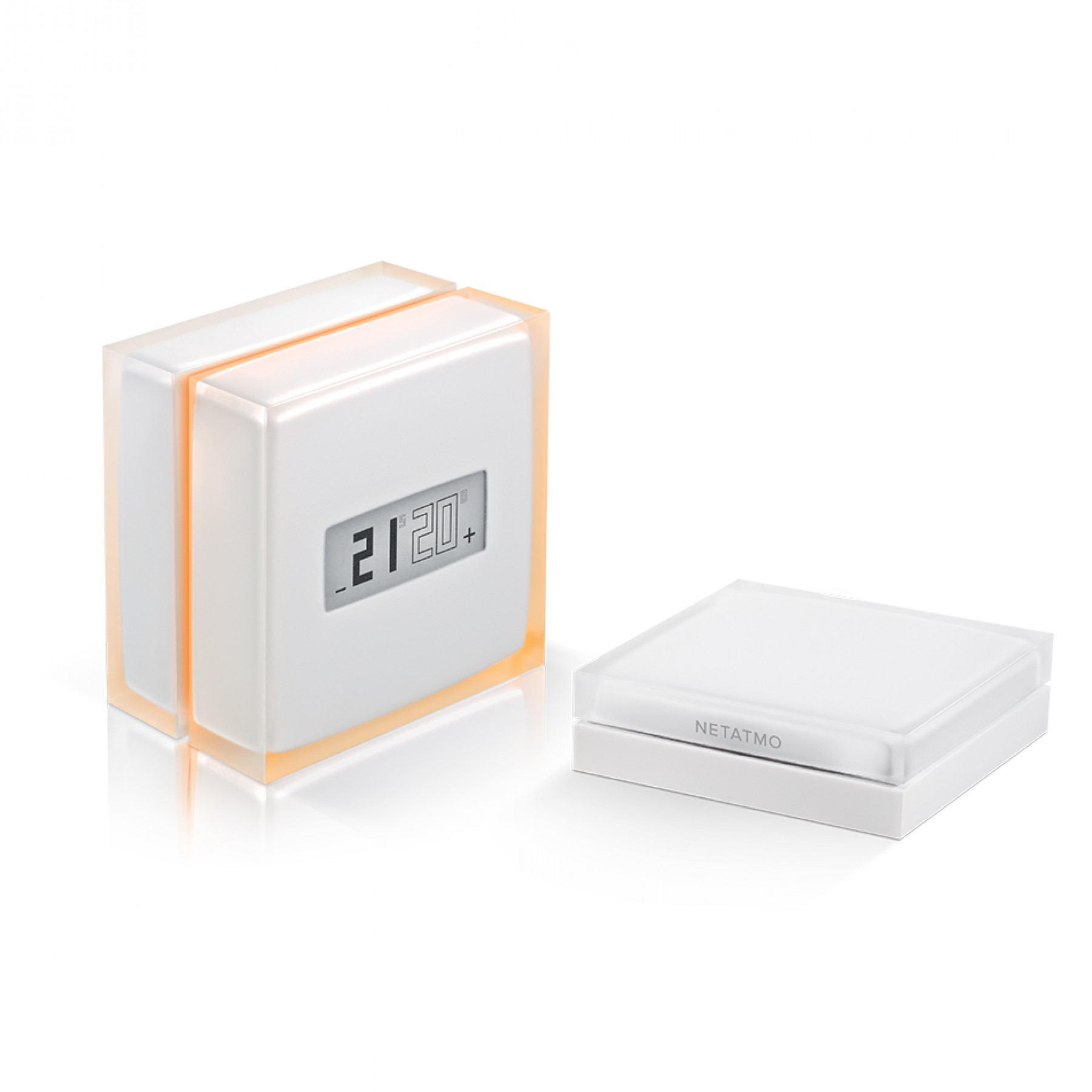 netatmo thermostat translucent white 0 in distributor wholesale stock for resellers to sell. Black Bedroom Furniture Sets. Home Design Ideas