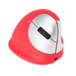 R-Go Tools R-Go HE Sport Ergonomic Mouse, Medium (165-195mm), Right Handed, Bluetooth, Red