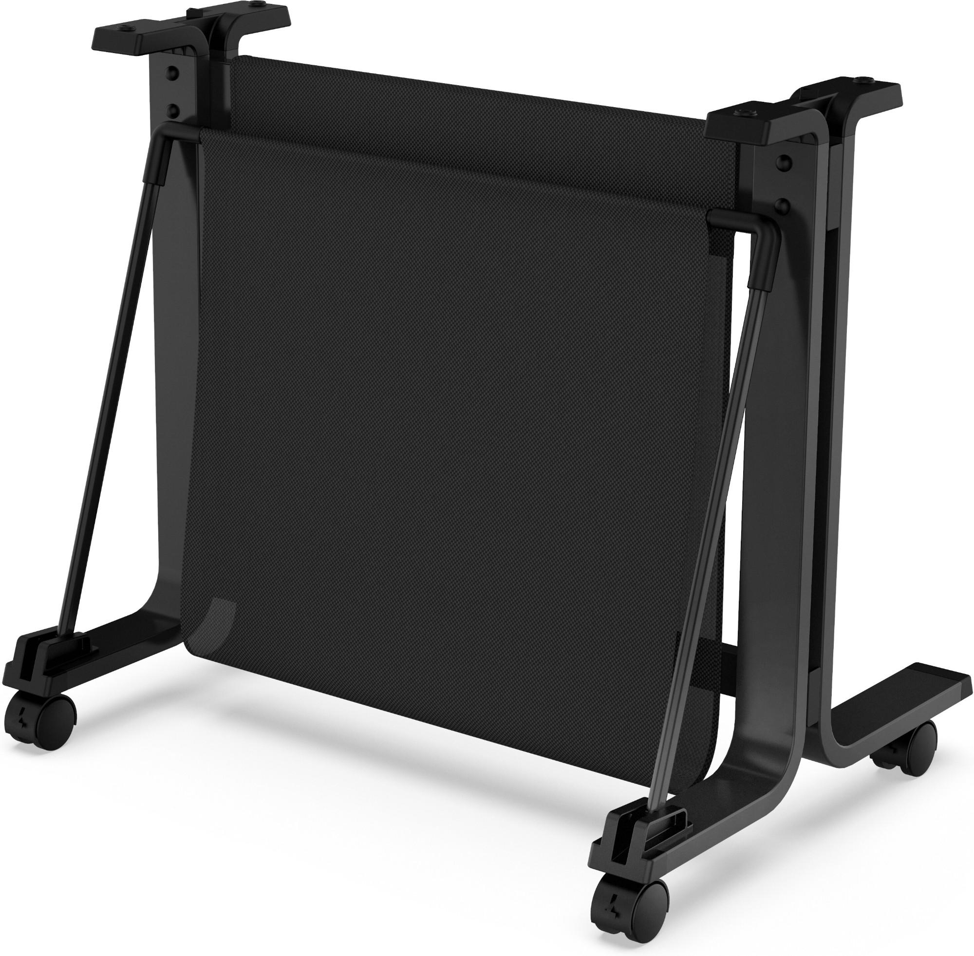 HP 3C753A mueble y soporte para impresoras Negro