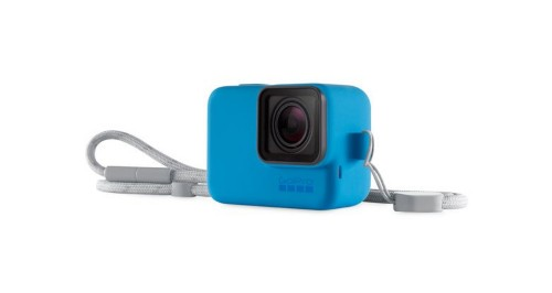 GoPro Sleeve + Lanyard Sleeve case Blue