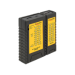 DeLOCK 86120 Black,Yellow network cable tester