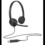 Logitech H340 Kopfhörer Kopfband USB Typ-A Schwarz