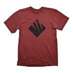 GEARS OF WAR 4 Men's Swarm Icon T-Shirt, Large, Dark Red (GE6042L)