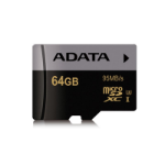 ADATA AUSDX64GUI3CL10-R 64GB MicroSDXC MLC Class 10 memory card