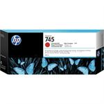 HP F9K06A (745) Ink cartridge red, 300ml