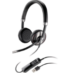 Plantronics Blackwire C720 Binaural Head-band Black headset