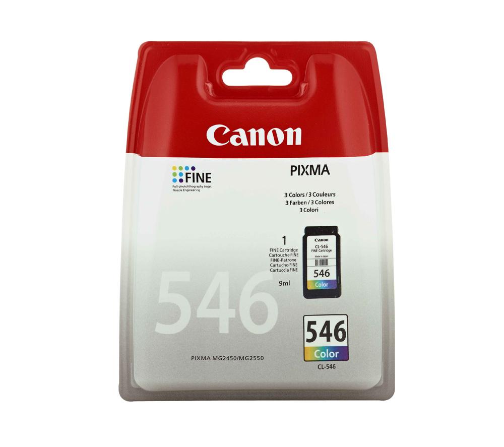 Canon CL-546 inktcartridge Original Cyaan, Magenta, Geel 1 stuk(s)