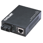 Intellinet Gigabit Ethernet Media Converter, 1000Base-T to 1000Base-SX (SC) Multi-Mode, 550m (506533)