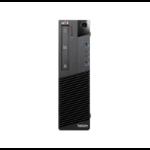 T1A Lenovo ThinkCentre M93p Refurbished 4th gen Intel® Core™ i5 i5-4570 8 GB DDR3-SDRAM 240 GB SSD SFF Black PC Windows 10 Pro