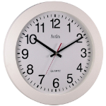 Anglo Continental Acctim Controller Wall Clock 36.8cm White