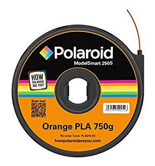 Polaroid PL-6019-00 3D printing material Polylactic acid (PLA) Orange 750 g
