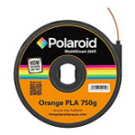 Polaroid - Orange - 750 g - PLA filament cartridge ( 3D )