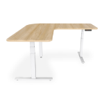 Digitus Electric height-adjustable stand/ sit desk frame, 90° angle-shaped (L-shaped)