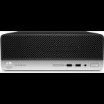 HP ProDesk 400 G5 i3-8100 SFF 8th gen Intel® Core™ i3 8 GB DDR4-SDRAM 256 GB SSD Windows 10 Pro PC Black, Silver