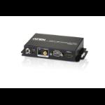 Aten VC812 Conversor de vídeo con escalador 1920 x 1200 Pixeles