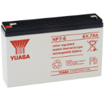 Yuasa NP7-6 Sealed Lead Acid (VRLA) 7000mAh 6V rechargeable battery