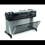 HP Designjet T830 36-in Color 2400 x 1200DPI Inyección de tinta térmica A1 (594 x 841 mm) Wifi impresora de gran formato dir
