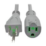 Tripp Lite P024-015-GY-HG 4.5m NEMA 5-15P NEMA 5-15R Grey power cable