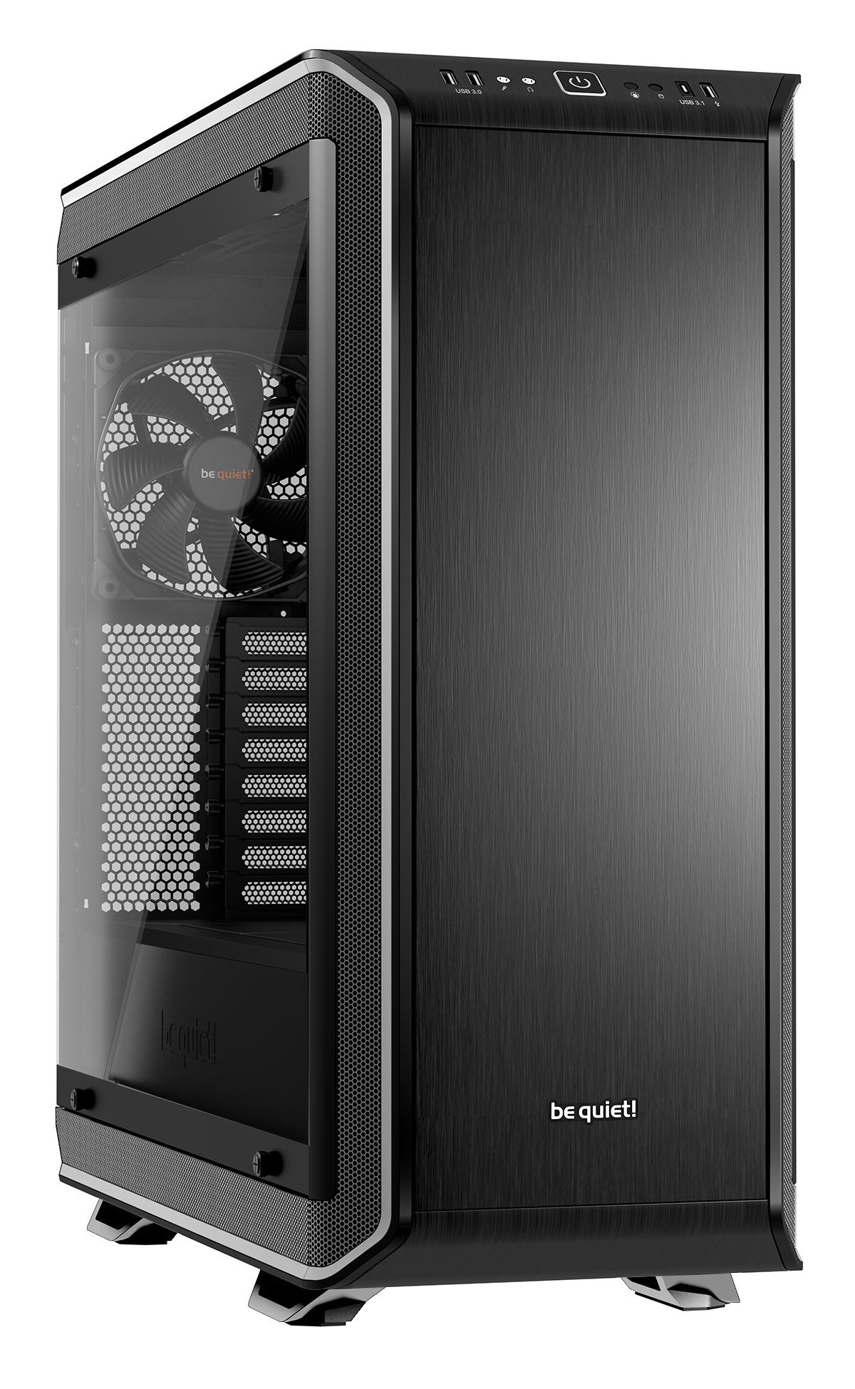 be quiet! Dark Base Pro 900 rev. 2 Full-Tower Black,Silver