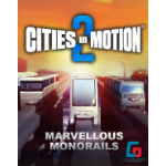 Paradox Interactive Cities in Motion 2 Marvellous Monorails, Linux/PC/Mac Video Game Downloadable Content (DLC) PC/Mac/Linux English