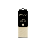 PNY USB Type-C to Type A UCD10 16GB 16GB USB 3.0 (3.1 Gen 1) Type-A/Type-C Black,Gold USB flash drive