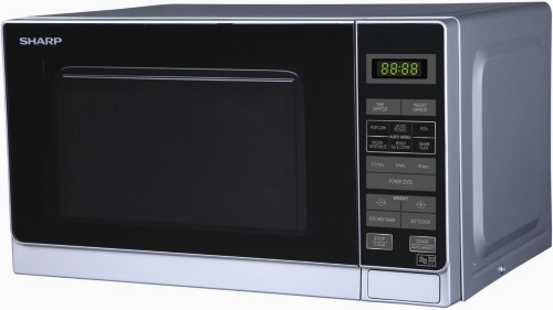 Sharp R-272SLM Countertop 20 L 800 W Silver