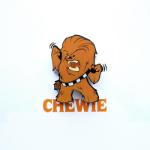 TARGET Chewbacca 3D Mini Wall Light