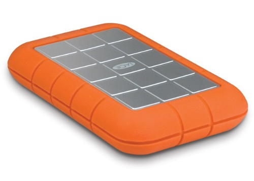 LaCie Rugged Triple USB 3.0 2TB External Hard Drive HDD Orange (9000448)