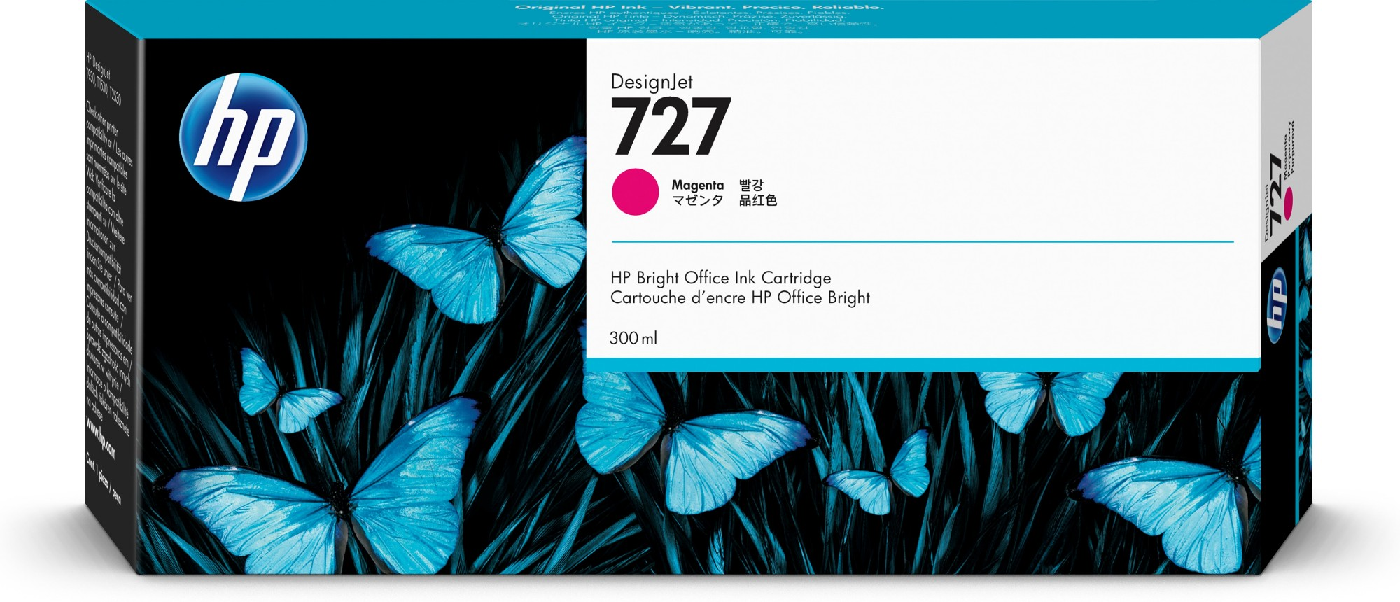 HP 727 Original Magenta