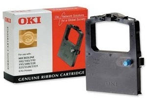 OKI 09002303 Nylon black, 3000K characters