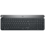 Logitech Craft RF Wireless + Bluetooth QWERTZ German Black,Grey