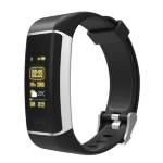 "Denver Electronics BFG-550 activity tracker Wristband activity tracker Black IP67 2.44 cm (0.96"")"