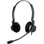 Jabra BIZ 2300 QD Duo Headset Head-band Black, Silver