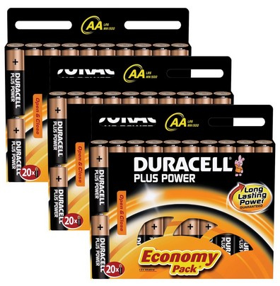 Duracell 60x AA 1.5V Single-use battery Alkaline