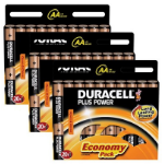 Duracell 60x AA 1.5V Alkaline 1.5V non-rechargeable battery