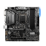 MSI MAG Z390M MORTAR motherboard LGA 1151 (Socket H4) Micro ATX Intel Z390